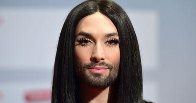 So sieht Conchita Wurst ohne Make-Up und Perücke aus