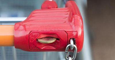 Genial: So entsperrst du einen Einkaufswagen ohne Münze oder Chip
